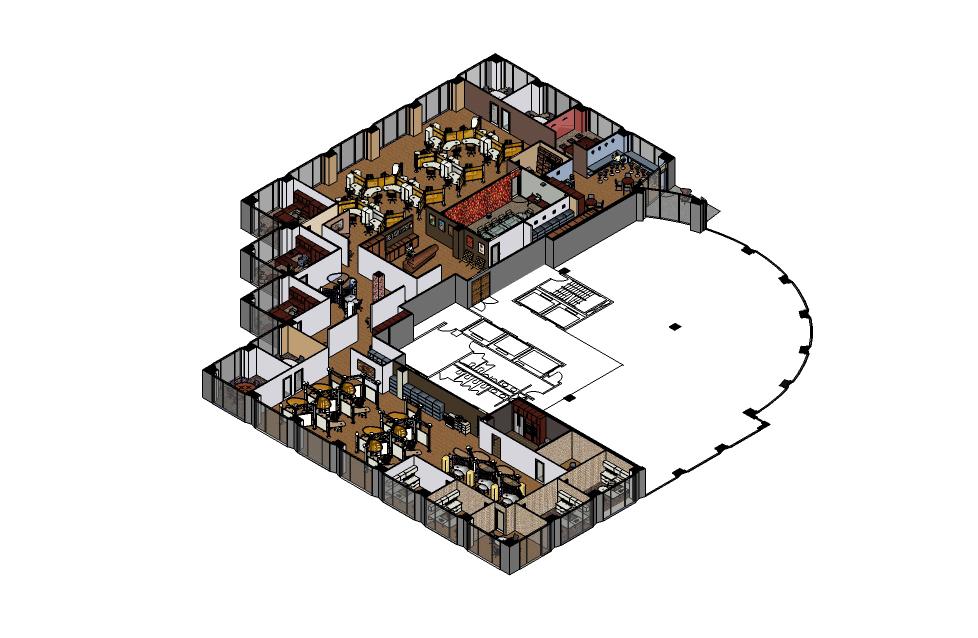Cayetana san segundo interior design for Corporate office plan
